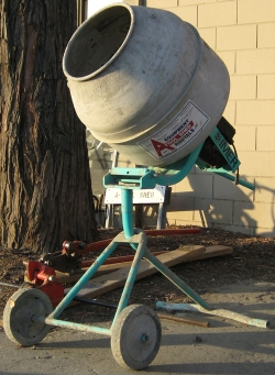 Rental store for 2 1 2  CU FT TRIPOD ELEC CONCRETE MIXER in Santa Cruz CA