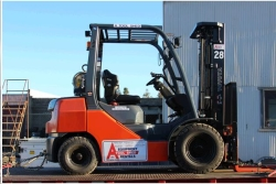 Rental store for 15  WAREHOUSE FORKLIFT 4500 LBS CAPACITY in Santa Cruz CA