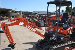 Rental store for 1 1 2 TON COMPACT EXCAVATOR in Santa Cruz CA