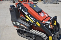 Rental store for 35  GAS MINI TRACK SKID STEER LOADER in Santa Cruz CA