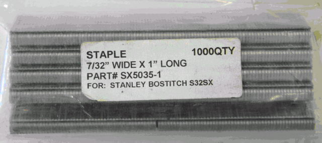 Where to find BOSTITCH 1  SX5035 STAPLES 1000 per BOX in Santa Cruz