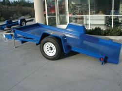Rental store for SINGLE AXLE TILT BED EQUIPMENT TRAILER in Santa Cruz CA
