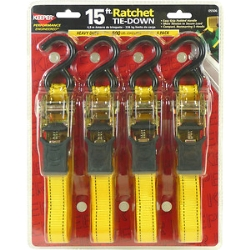 Rental store for TIE DOWN 15  RATCHET STRAP 4 PACK in Santa Cruz CA