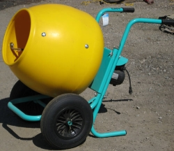 Rental store for 2 CU FT WHEEL BARROW CONCRETE MIXER in Santa Cruz CA
