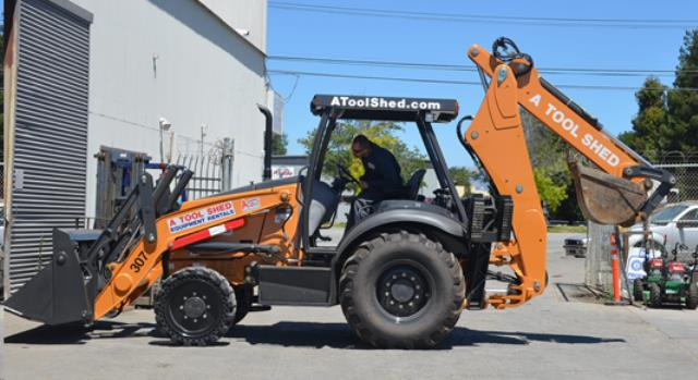 Where to find 4x4 BACKHOE TRACTOR LOADER in Santa Cruz