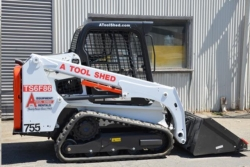 Rental store for 62  66  TRACK SKID STEER  LOADER TRACTOR in Santa Cruz CA