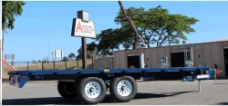Rental store for 8  x18  DECK OVER TRAILER in Santa Cruz CA