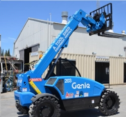 Rental store for 19  HIGH 4X4 TELEHANDLER REACH FORKLIFT in Santa Cruz CA
