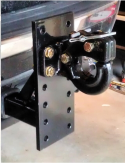 Rental store for 6 POS PINTLE SLIDE IN HITCH W PIN in Santa Cruz CA