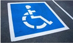 Rental store for HANDICAPPED PARKING STENCIL in Santa Cruz CA