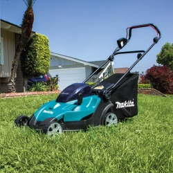 Rental store for 17  MAKITA CORDLESS LAWN MOWER in Santa Cruz CA