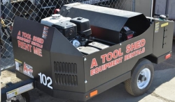 Rental store for 4000 PSI HOT PRESSURE WASHER w  TRAILER in Santa Cruz CA