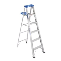 Rental store for 6  ALUMINUM STEP LADDER in Santa Cruz CA