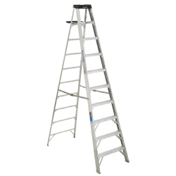 Rental store for 10  ALUMINUM STEP LADDER in Santa Cruz CA