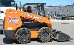 Rental store for 60  SKID STEER TRACTOR LOADER in Santa Cruz CA