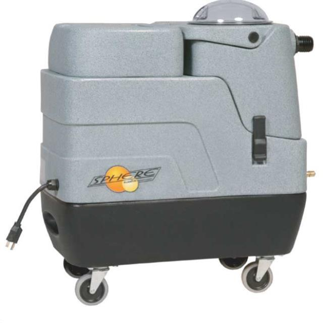 Compact carpet cleaner extractor