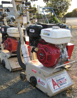 Used Equipment Sales GAS COMPACT CONCRETE PLANER in Santa Cruz CA