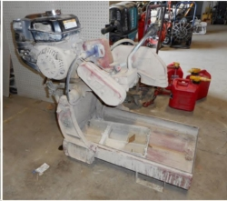Used Equipment Sales GAS BRICK SAW in Santa Cruz CA